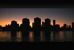 City Silhouette (whoops vision) Tags: city light sunset fab sky buildings reflections river evening twilight dusk australia queensland brisbaneriver silhoutte brisbanecity colouredsky aplusphoto auselite bestofaustralia colourartaward flickrslegend
