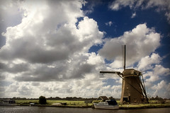 Dutch Windmill (siebe ) Tags: sky holland mill windmill dutch clouds landscape scenery nederland thenetherlands molen landschap aplusphoto superhearts hollandsiebe hollandstock