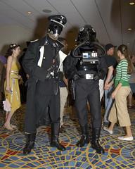 Steam Punk Tie Pilot? (Cayusa) Tags: atlanta vacation starwars hellboy dragoncon dragoncon2007 tiepilor