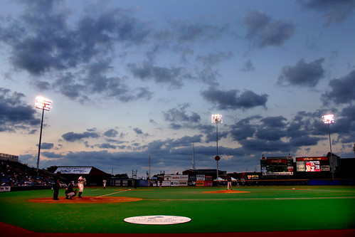 Night Baseball in Wichita by ChrisM70.