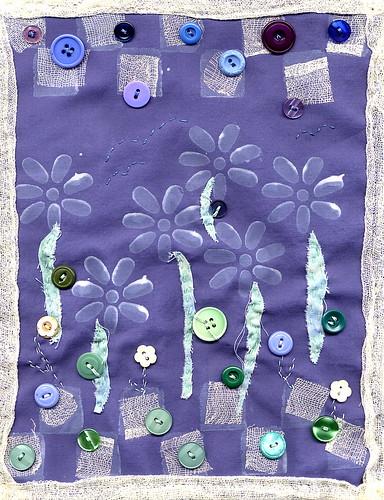 peace garden journal quilt