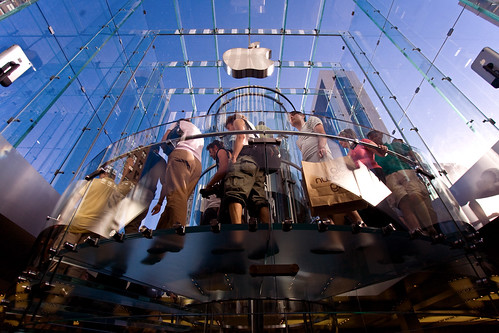 Apple Retail Store, NYC (#28896) by mark sebastian.