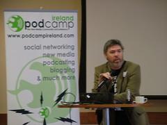 Brian Greene at Podcamp
