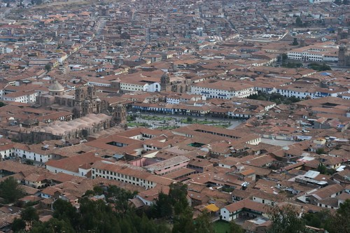 Plaza de Armas from above