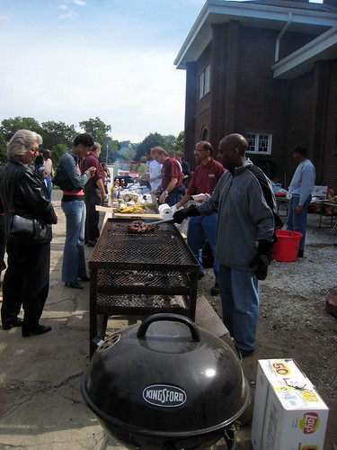 BBQ on Homecoming Day