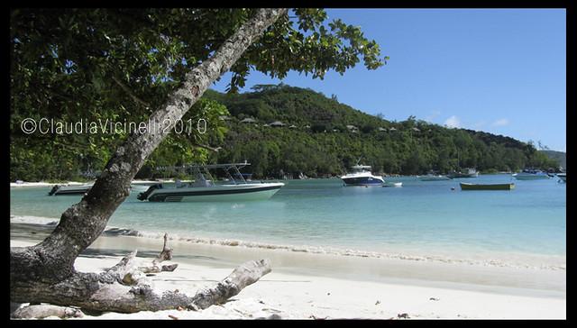 Port Launay spiaggia Seychelles