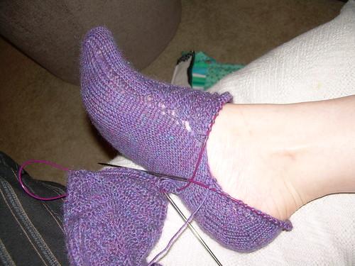 first heel