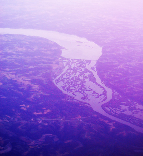 flying over the mississippi