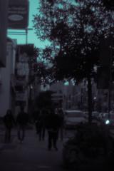 Street scene (Mlhav) Tags: toronto streets digital pen holga lomo olympus honest split eds tone ep2 holgamods digitalholga