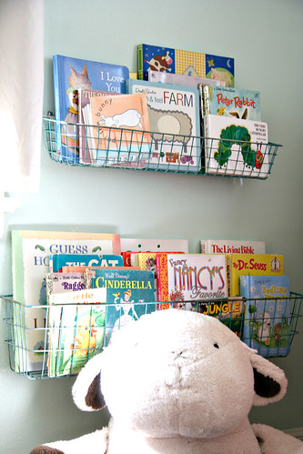 Sweet P's Nursery - Book Baskets