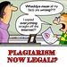 plagiarism legal!?