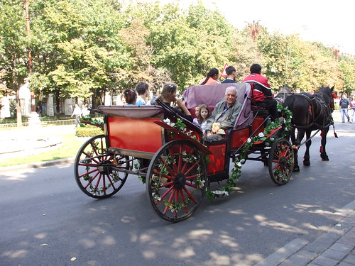 Red Carriage at Bucharest Days
