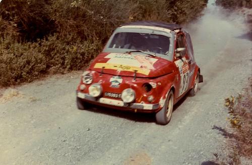 Fiat 500 Al Rally Di Sanremo 1980 A Photo On Flickriver