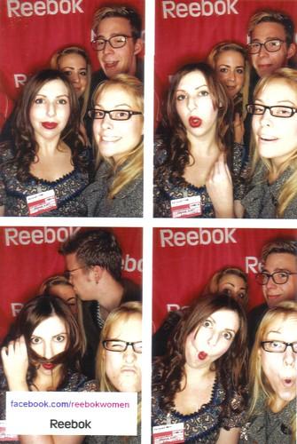 Reebok photobooth