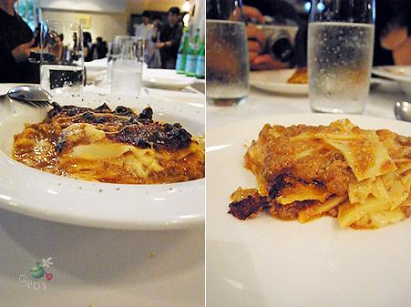 Lasagne 千層麵