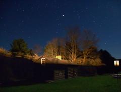 Fleeting (Nicholas_T) Tags: longexposure sky night stars pennsylvania astrophotography creativecommons moonlight ccc nightsky pottercounty civilianconservationcorps pennsylvaniawilds cherryspringsstatepark susquehannockstateforest
