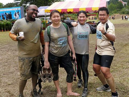Genting Trailblazer 2010 - Alex, Suanie, Cynthia, Kevin finishers