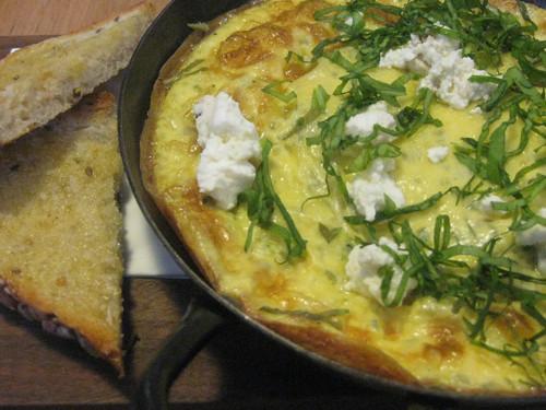 Nettle and Sorrell Omelette