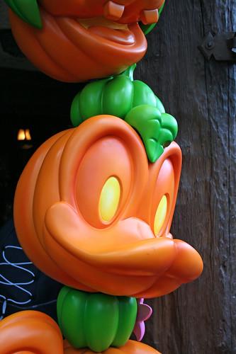 Jack o' Lantern Donald