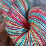 ~Jingle Bell Rock~ Allure Sock 75/25 SW BFL/Nylon