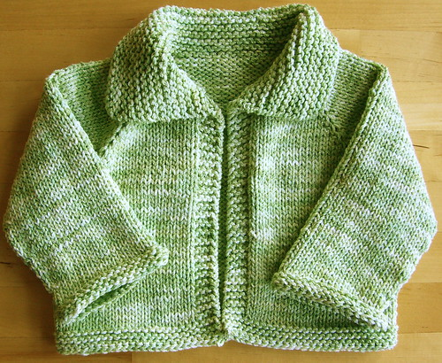 Simple Baby Cardigan Knitting Pattern : EASY BABY SWEATER PATTERNS   Free Patterns