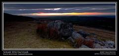Solar Spectacular (Sean Bolton (no longer active)) Tags: sunset sun silhouette rock wales carmarthenshire cymru wfc sirgâr seanbolton welshflickrcymru ffotocymrucouk ffotocymru