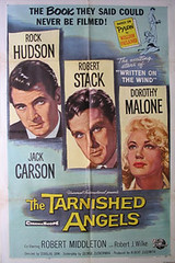 The Tarnished Angels (jon rubin) Tags: movieposter rockhudson robertstack douglassirk dorothymalone thetarnishedangels