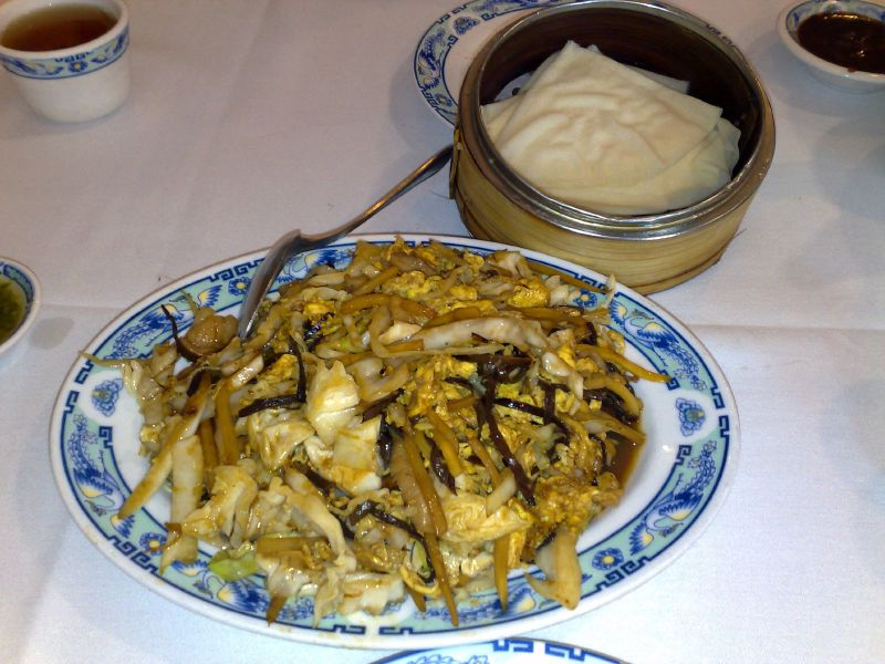 Mu Shu Pork Appetizer