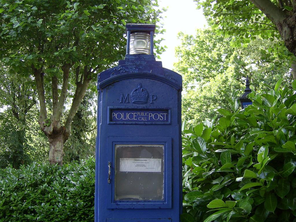 Police Telephone Post, Northwood, London