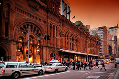 Queen Victoria Building (Christopher Chan) Tags: city retail canon shopping sydney australia nsw newsouthwales slideshow romanesque tamron qvb queenvictoriabuilding 30d abigfave anawesomeshot aplusphoto 18250mm
