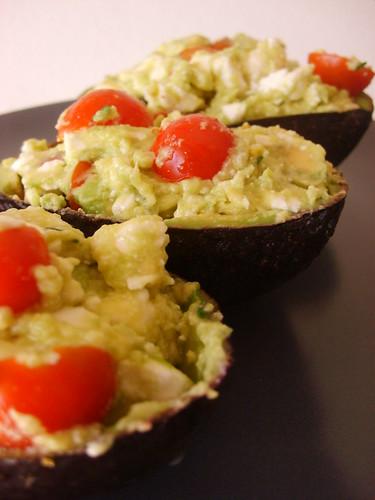 Salade Avocats Tomates Cerises et Feta