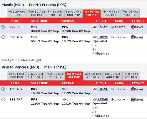philippine airline online booking