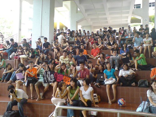 crowd NUS