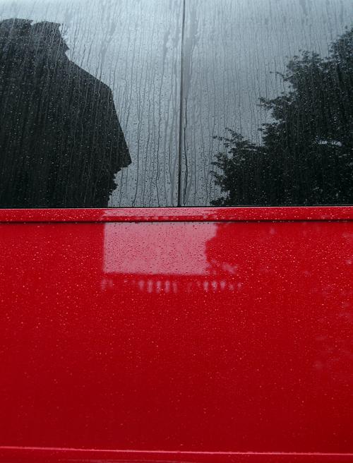 rainy bus