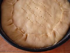 torta rústica de maçãs