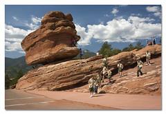Balanced Rock (newsman05) Tags: rock colorado gardenofthegods boyscouts formation coloradosprings balancedrock wowiekazowie