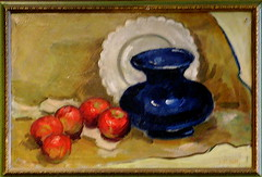 Still Life - The September Bentley Painting