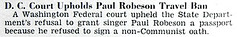 Washington DC Court Refuses to Let Paul Robeson Travel - Jet Magazine September 1, 1955 (vieilles_annonces) Tags: old travel people usa black history 1955 vintage magazine print scans fifties photos african negro retro ephemera nostalgia photographs american rights 1950s blacks americana colored 50s magazines ban articles folks oldphotos civilrights newsclipping blackhistory paulrobeson vintagephotos africans africanamericanhistory negroes peopleofcolor vintagephotographs newsclippings vintagemagazine coloredpeople negrohistory coloredfolk loyaltyoath blacknews paulrobeson1955