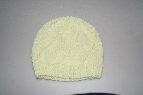 Lion Brand Baby Soft - Sprial Eyelet #2 Baby Hat