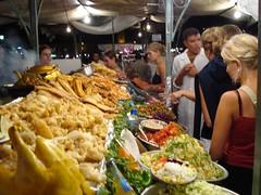 Do 20/9 19u59 Eten! (Bouwkamp Marokko Adar 09-2007) Tags: marrakech eten djemaaelfna