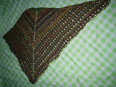 Easy Triangular Shawl