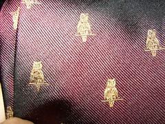 Swami's new tie