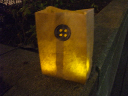 Coraline button luminary