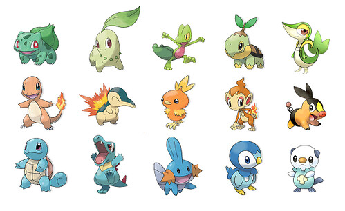 generation 5 pokemon starters. Pokemon Starters