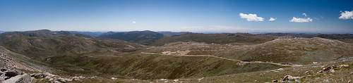 North from Kosciuszko (panorama)