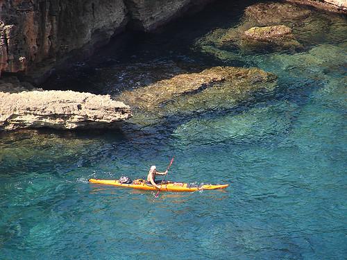 Vuelta a Menorca en kayak 8