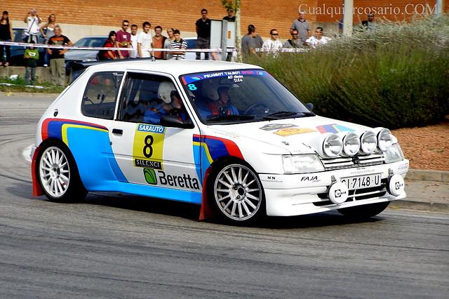 Rally 2000 Viratges (2010) Peugeot 205 Maxi.