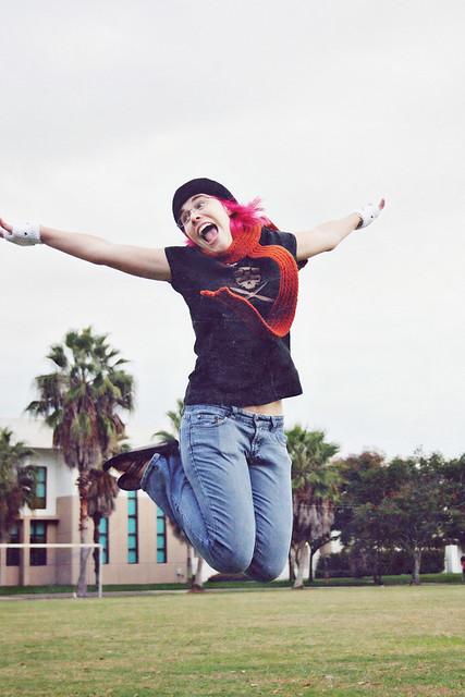 Megan jump shot