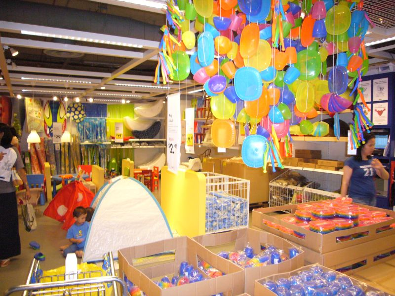 Merchandise Displays In Ikea Are Also Prominent And Well Placed At Eye Level Notice The Absence Of Ugly Shelves Which Block Both Human Passage Or View