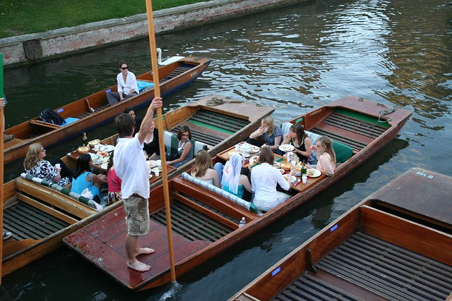hen party on a punt
